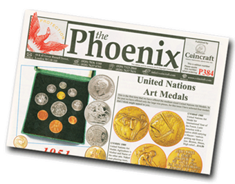 Picture of The Phoenix - our FREE publication. One-off sample copy