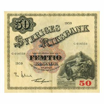 Picture of Sweden, 50 Kronor, Good VF