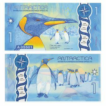 Picture of Antarctica 1 Dollar 2015 Polymer Plastic Unc