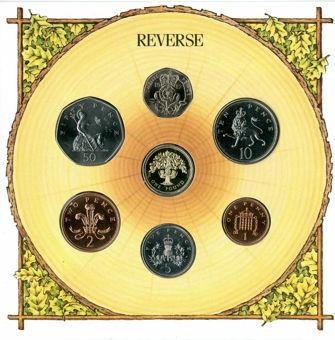 Picture of Elizabeth II, Royal Mint 1987 Set Brilliant Unc