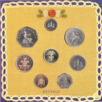 Picture of Elizabeth II, 1990 Royal Mint Brilliant Unc Mint Set