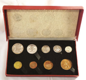 Picture of George VI, 1950 Royal Mint Proof Set