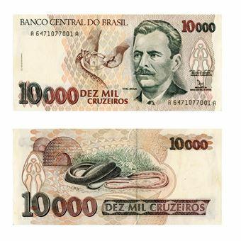 Picture of Brazil, 10,000 Cruzeiros (P233)