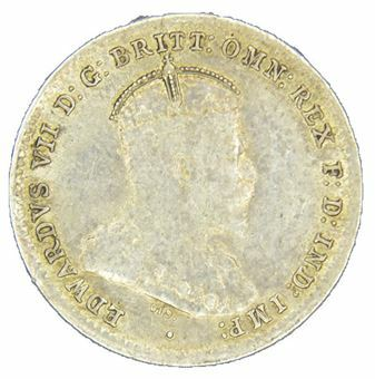 Picture of Australia, Edward VII, threepence 1910, Very Fine