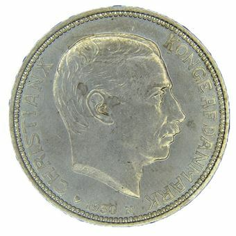 Picture of Denmark, 1930 2 Kroner Commemorative. Choice Unc.