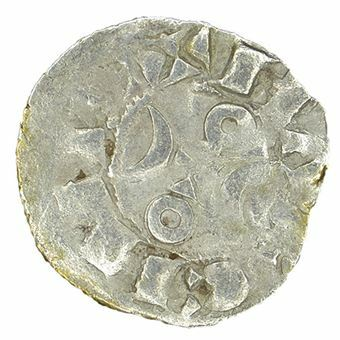 Picture of France, Hugh IX (1163-1219) Silver Dinar, Fine