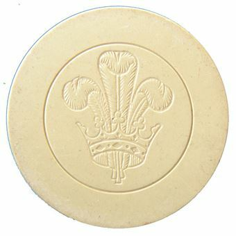 Picture of Prince of Wales poker chips from the early 20th century