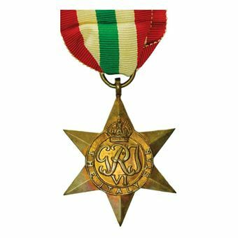 Picture of Italy, World War II Star Medal