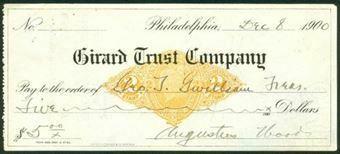 Picture of Philadelphia, Pennsylvania, Girard Trust Company, 190(0)
