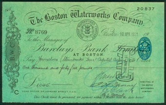 Picture of District Bank Ltd., Macclesfield, 19(52). Unissued