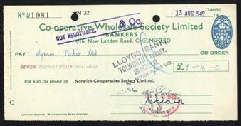 Picture of Co-operative Wholesale Society Ltd., 14/16 New London Road, Chelsford, 19(49)