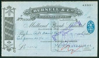 Picture of Midland Bank Ltd., Ellesmere Port, Cheshire, 19(36), special printing