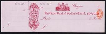 Picture of Union Bank of Scotland Ltd., Glasgow, 18(88)
