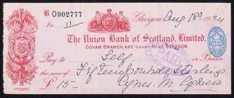 Picture of Union Bank of Scotland Ltd., Glasgow, Govan Branch, 19(24)