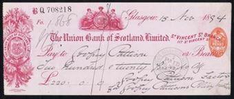 Picture of Union Bank of Scotland Ltd., Glasgow, St. Vincent Street Branch, 18(94)