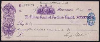Picture of Union Bank of Scotland Ltd., Stranraer, 19(24)