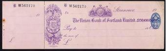 Picture of Union Bank of Scotland Ltd., Stranraer, 19(26)