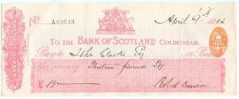Picture of Bank of Scotland, Coldstream, 19(12)
