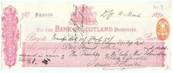 Picture of Bank of Scotland, Dumfries, 18(90)