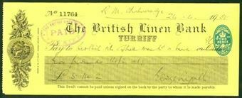 Picture of British Linen Bank, Turriff, 19(35)