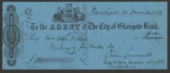 Picture of Agent of the City of Glasgow, Linlithgow, 18(71)