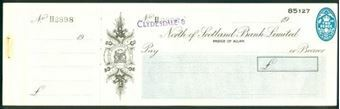 Picture of Clydesdale & North of Scotland Bank Ltd, 'Clydesdale &' overprinted, Bridge of Allan, 19(47)
