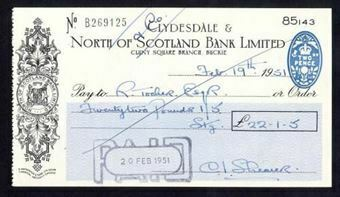 Picture of Clydesdale & North of Scotland Bank Ltd., Buckie, 19(51)