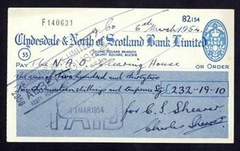 Picture of Clydesdale & North of Scotland Bank Ltd., Buckie, 19(54)