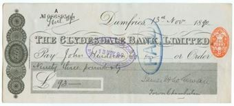 Picture of Clydesdale Bank Ltd., Dumfries, 18(90)