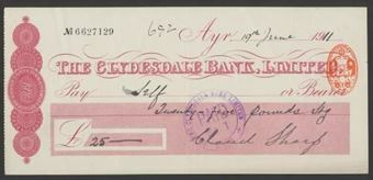 Picture of Clydesdale Bank, Ltd., Ayr, 19(11)