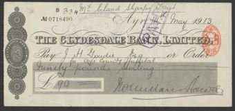 Picture of Clydesdale Bank, Ltd., Ayr, 19(13)