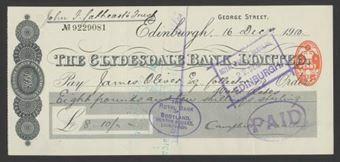Picture of Clydesdale Bank, Ltd., Edinburgh, George Street, 19(10)