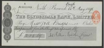 Picture of Clydesdale Bank, Ltd., North Berwick, 18(96)