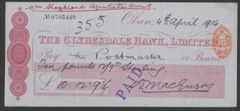 Picture of Clydesdale Bank, Ltd., Oban, 18(914)