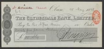 Picture of Clydesdale Bank, Ltd., Oban, 18(98)