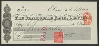 Picture of Clydesdale Bank, Ltd., Oban, 19(18)
