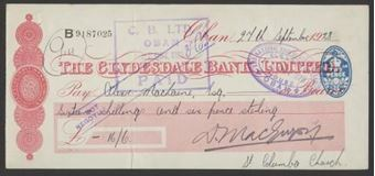 Picture of Clydesdale Bank, Ltd., Oban, 19(28)