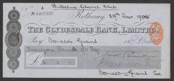 Picture of Clydesdale Bank, Ltd., Rothesay, 18(906)