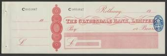 Picture of Clydesdale Bank, Ltd., Rothesay, 19(30)