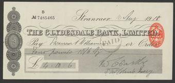 Picture of Clydesdale Bank, Ltd., Stranraer, 19(18)