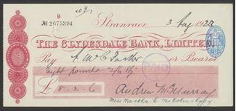 Picture of Clydesdale Bank, Ltd., Stranraer, 19(22)