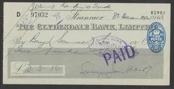 Picture of Clydesdale Bank, Ltd., Stranraer, 19(43)