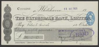 Picture of Clydesdale Bank, Ltd., Whitehaven, 19(21)