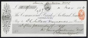 Picture of Commercial Bank of Scotland Ltd., Campbeltown, 188(6)