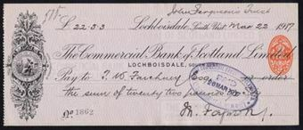 Picture of Commercial Bank of Scotland Ltd., Lochboisdale, 191(7)