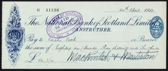 Picture of National Bank of Scotland Ltd., Anstruther, 19(33)