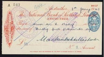Picture of National Bank of Scotland Ltd., Anstruther, 19(44