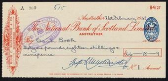Picture of National Bank of Scotland Ltd., Anstruther, 19(48)