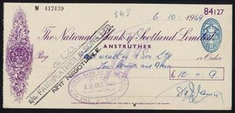Picture of National Bank of Scotland Ltd., Anstruther, 19(49)