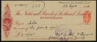 Picture of National Bank of Scotland Ltd., Burntisland, 19(16)